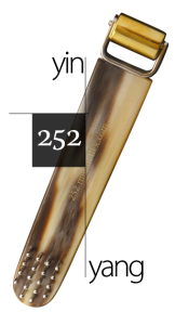 No. 252 - Small Brush with Smooth Yin Cylinder ($48)