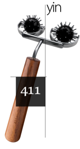 No. 411 - Double Yin Body Roller ($60)