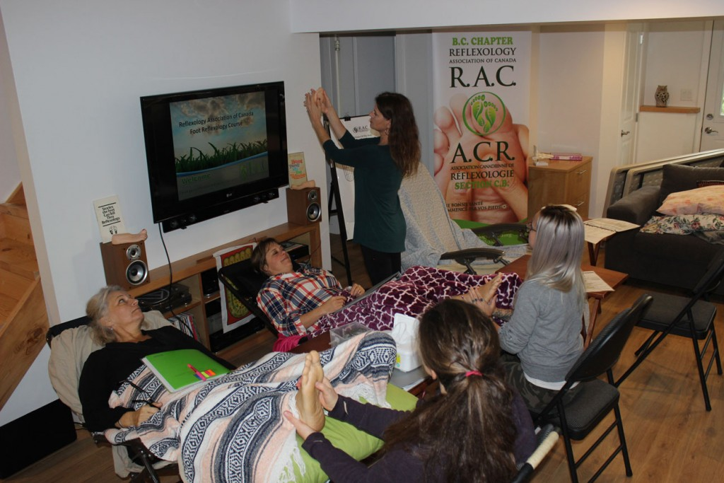 Reflexology Certification Course Victoria