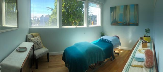 West Coast Reflexology Clinic Room